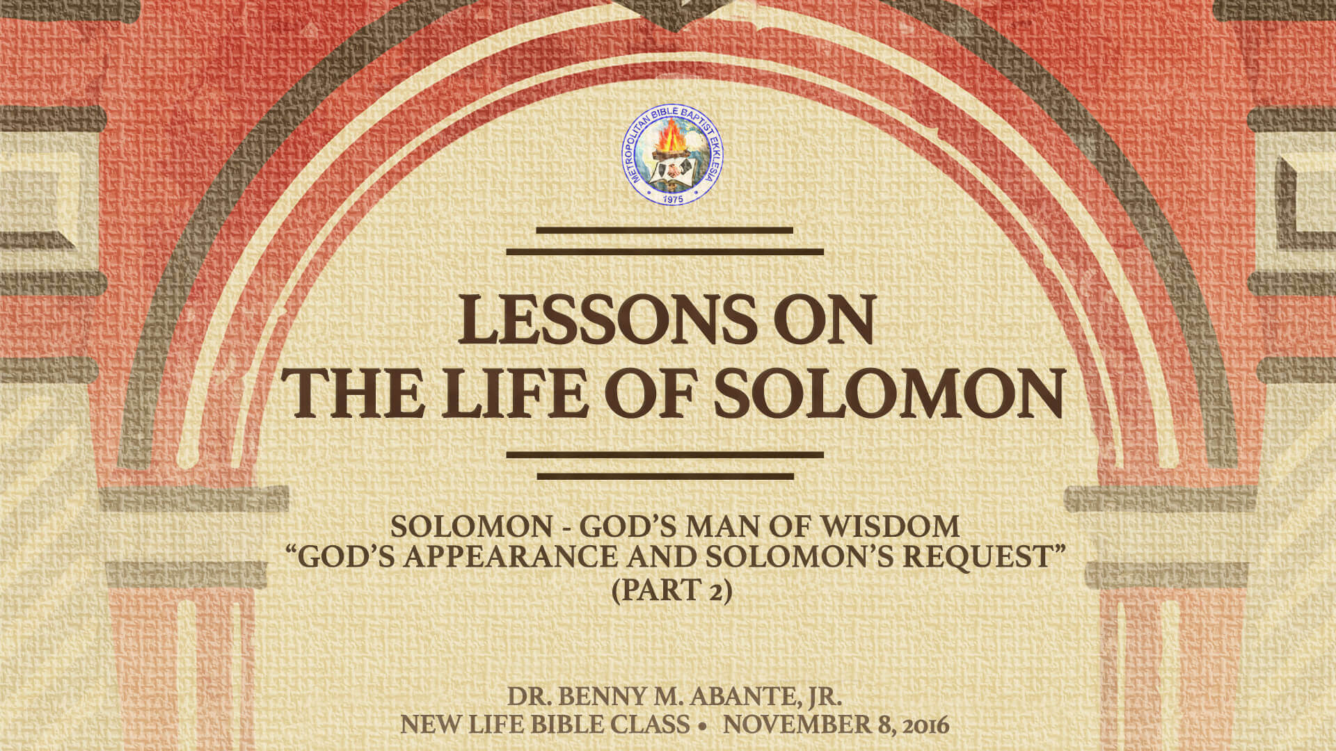 Bible study notes on King SOLOMON from biblereferenceguide.com